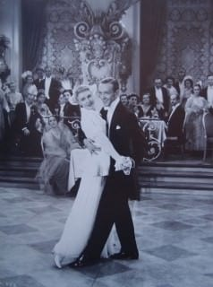 Astaire in White Tie with Ginger Rogers 1939