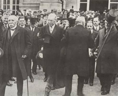 Frock Coats in Versailles 1919