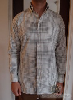Tattersall Shirt Fit
