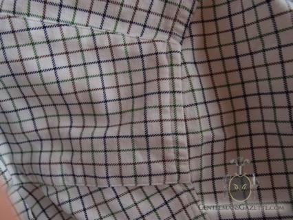 Tattersall Shirt Pattern Matching