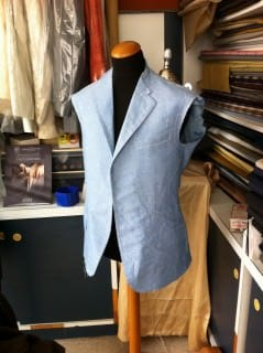 Bespoke Jacket Sicily - Without Darts
