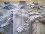 Bold Horizontal Stripe Shirts by Etutee