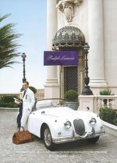 Ralph Lauren Style with Jaguar XK 120