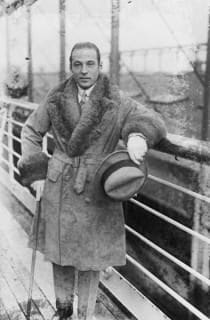 Rudolph Valentino Fur Coat
