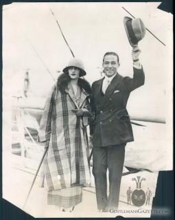 Valentino Aboard A Ship