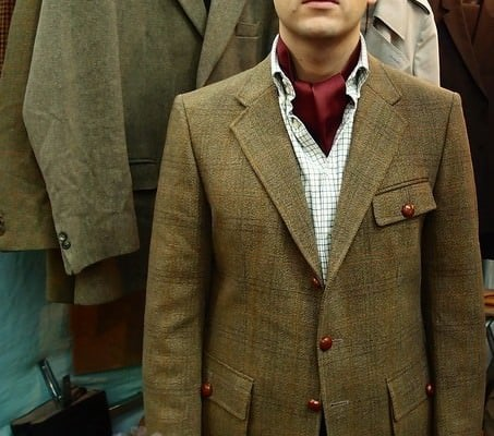 Saxony Tweed Shooting Jacket