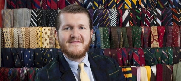 Sean Crowley - Tie Collector Extraordinaire