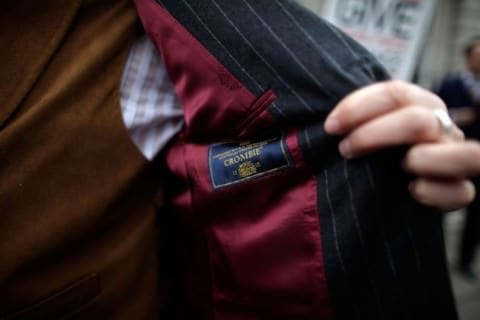 Crombie Off the Peg - Not Savile Row Bespoke