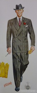 Double Breasted Suit 1939