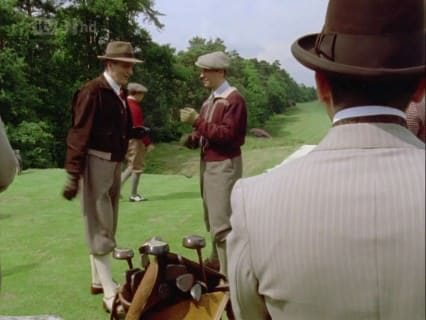 Golf Outfit Arthur Hastings