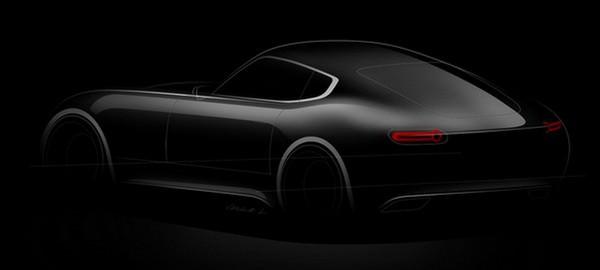 Jaguar E-Type by Laszlo Varga