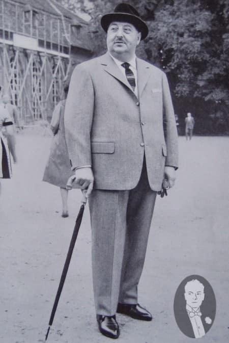 Big Gentleman in Properly Fitting Suit