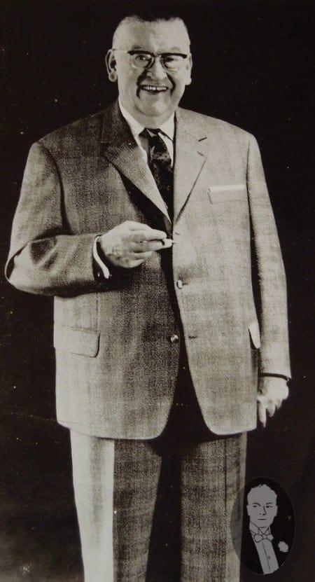 Big, Subtle Patterned Suit for a Big Man