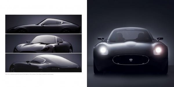 Jaguar E-Type - Different Angles