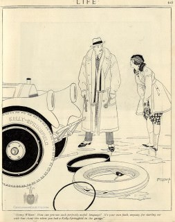 Laurence Fellows Kelly Springfield Tire Ad