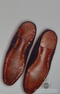 Nailed Leather Sole on Albert Slipper