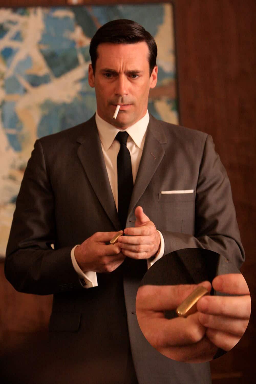 Don draper s watch tie cufflinks amp other accessories in mad men