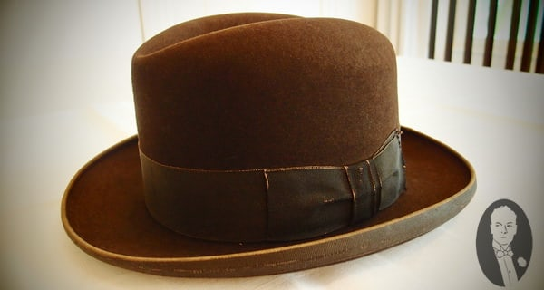 Hom Hat from Konrad Adenauer