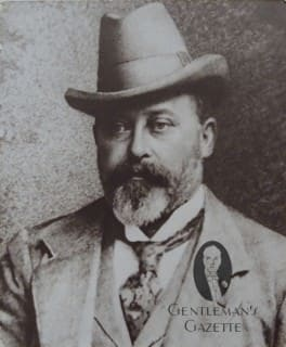 Prince of Wales Bertie in Homburg Hat ca. 1890