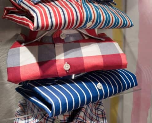 Albini Fabrics in Strong Colors