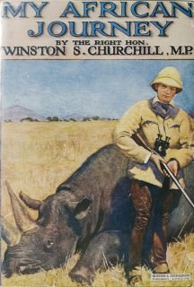 Churchill Book - My African Journey Cover