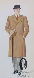 Covert Coat with Turn Back Cuffs