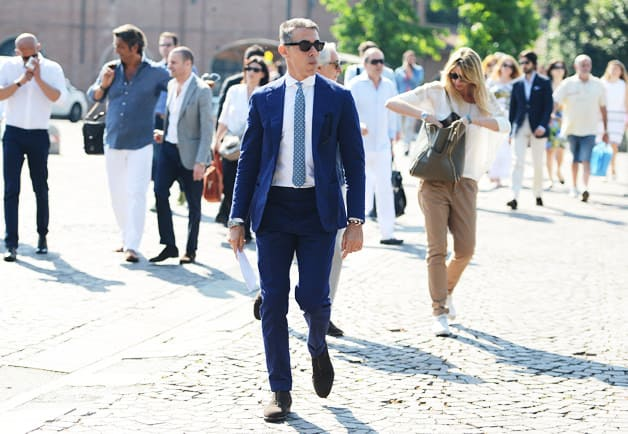 Crowd at Pitti Uomo 82