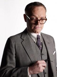Mad Men Season 4 - Lane in Glencheck Suit