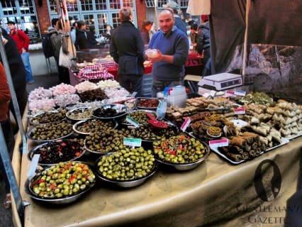 Olives & Turkish Delight