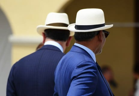 Panama Hat in Lord's Hat Style