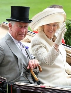 Prince Charles in Grey Morning Suit Royal Ascot 2012