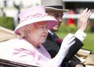 Queen Elizabeth II at Royal Ascot 2012
