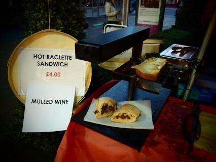 Raclette Sandwich