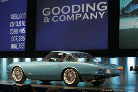1963 Chevrolet Corvette Pininfarina Rondine Side & Rear View