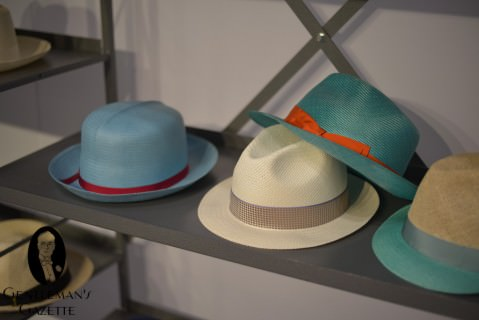 Borsalino Panama Hats in Vibrant Colors