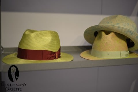 Borsalino Spotted Summer Straw Hats