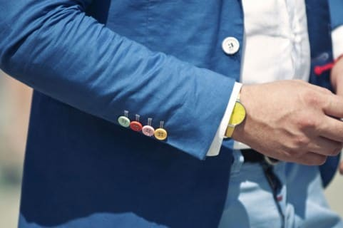 Colorful Sleeve Buttons
