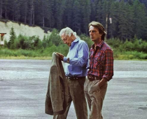 Gianni Agnelli & Luca di Montezemolo