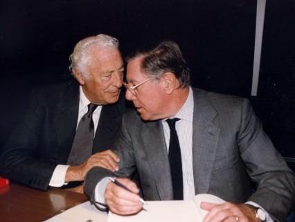 Gianni Agnelli & Sergio Pininfarina