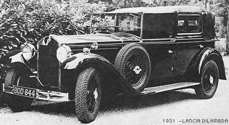 Pininfarina Lancia Dilambda 1931
