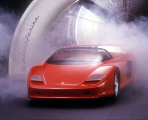 Pininfarina had Italy's first wind tunnel