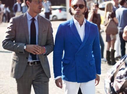 Plaid Suit & Special Blue Blazer