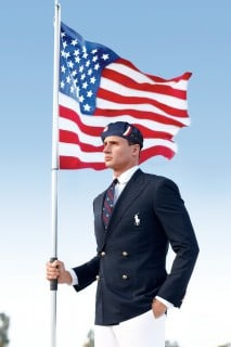 Ralph Lauren 2012 Olympic Uniforms Made in China - Ryan Lochte