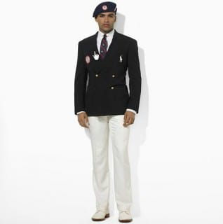 Ralph Lauren Team USA Men's Uniform Olympics 2012