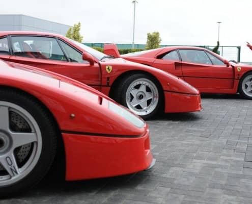 Sergio Pininfarina & Ferrari F40