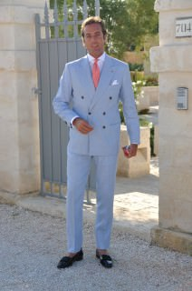 Summer Suit with Opera Pumps