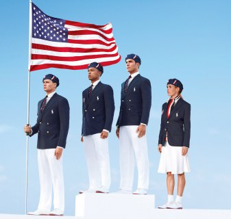 Team USA Olympic Uniforms by Ralph Lauren - Made in China