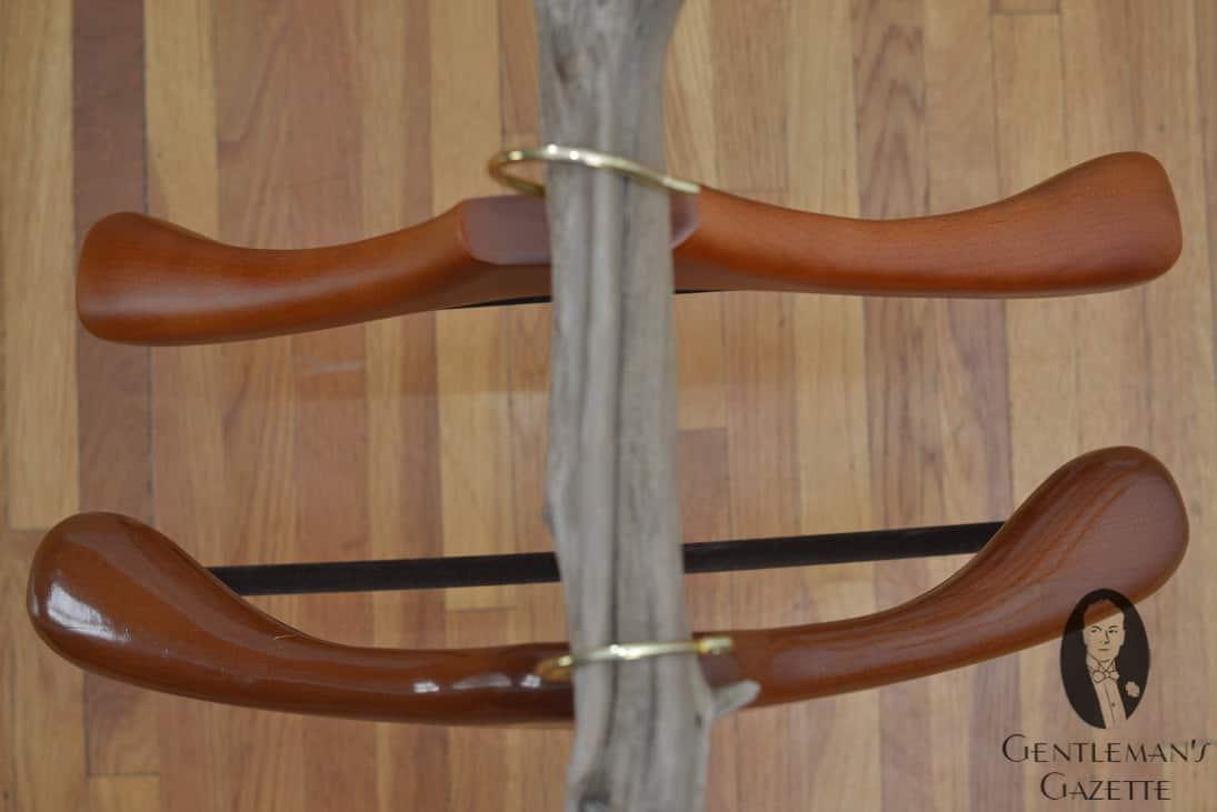Top View Comparison - Hanger Project Is Bulkier