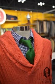 Vicomte A Salmon Colored Sweater