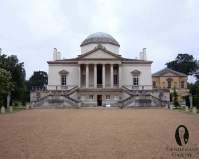 Chiswick House in Full - South View